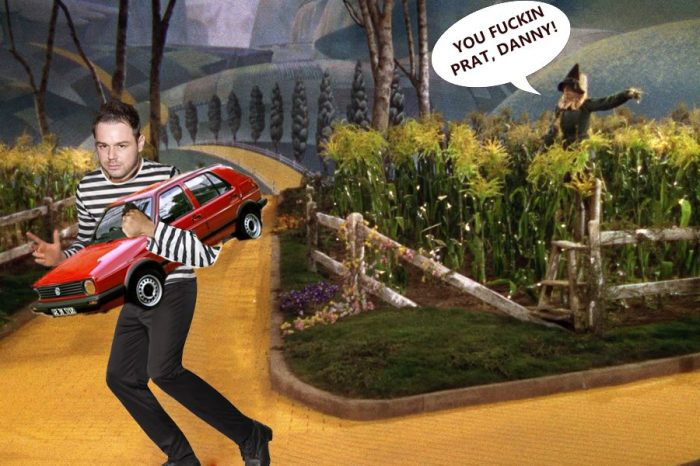Danny Dyer showing you how to steal a car.  Image by Jon Coombs
