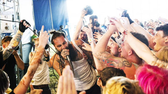 LetLive killing it at this years Download Festival.